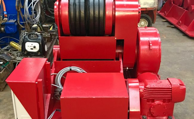 10. Reconditioning BODE SAR 2000 100 Tonne Self Aligning Welding Rotators for Hire or to Buy