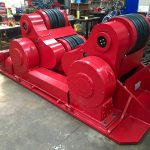 13. Reconditioning BODE SAR 2000 100 Tonne Self Aligning Welding Rotators for Hire or to Buy