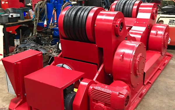 Reconditioning BODE SAR 2000 100 Tonne Self Aligning Welding Rotators
