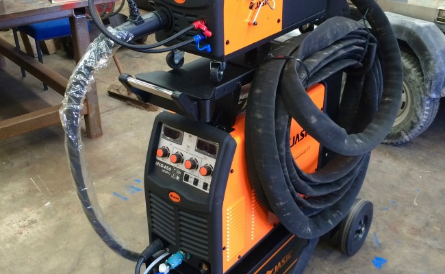 3. Jasic MIG 450 Water Cooled MIG Welder Inverter Package