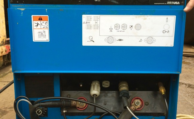 3. Miller Syncrowave 350 LX AC:DC Water Cooled TIG Welding Machine Hire Package