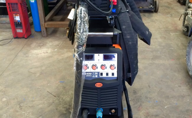 4. Jasic MIG 450 Water Cooled MIG Welder Inverter Package