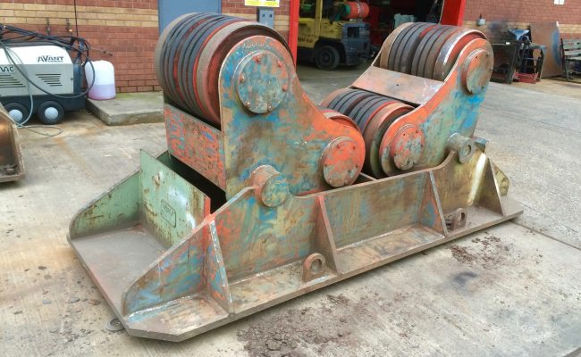 5. Reconditioning BODE SAR 2000 100 Tonne Self Aligning Welding Rotators for Hire or to Buy