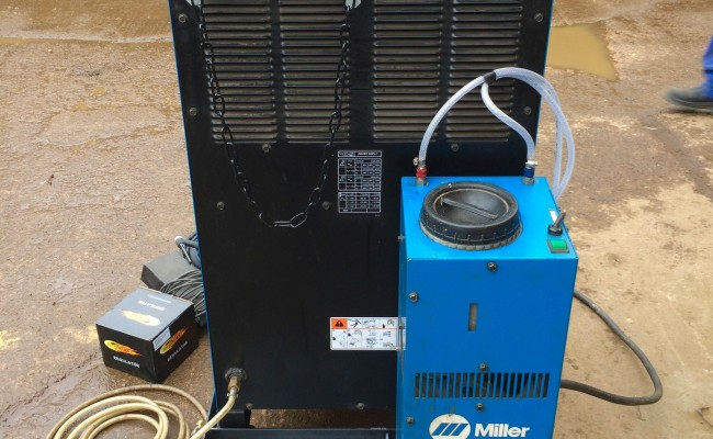 6. Miller Syncrowave 350 LX AC:DC Water Cooled TIG Welding Machine Hire Package