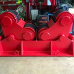 7. Reconditioning BODE SAR 2000 100 Tonne Self Aligning Welding Rotators for Hire or to Buy