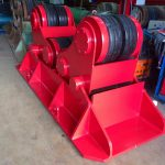 8. Reconditioning BODE SAR 2000 100 Tonne Self Aligning Welding Rotators for Hire or to Buy