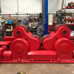 9. Reconditioning BODE SAR 2000 100 Tonne Self Aligning Welding Rotators for Hire or to Buy