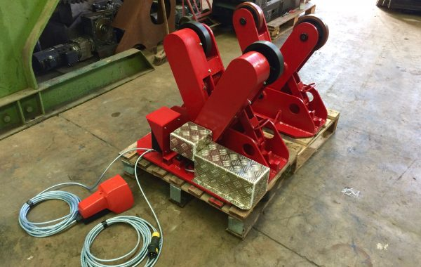 Used BODE 2 Tonne Scissor Pipe Rotators, 110V, Fully Reconditioned