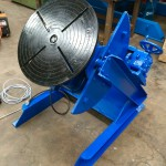 10. Fully Reconditioned MPE Yates 750kg Manual Tilt Welding Positioner with Foot Pedal Control, 415V