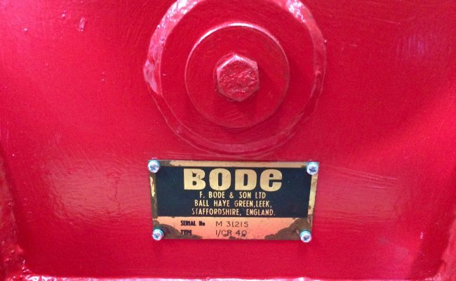 3. BODE 2 Tonne Scissor Pipe Rotators 110V, Fully Reconditioned