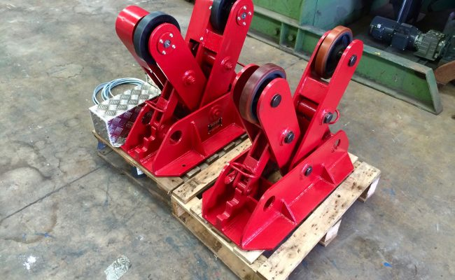 4. BODE 2 Tonne Scissor Pipe Rotators 110V, Fully Reconditioned