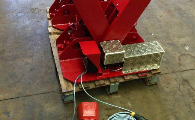 7. BODE 2 Tonne Scissor Pipe Rotators 110V, Fully Reconditioned