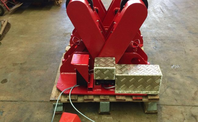 8. BODE 2 Tonne Scissor Pipe Rotators 110V, Fully Reconditioned