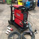 1. Lincoln Electric Invertec TPX 300 Water Cooled DC TIG Welder Inverter Package, 415V