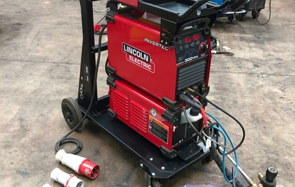 Lincoln Electric Invertec TPX 300 Water Cooled DC TIG Welder Inverter Package, 415V