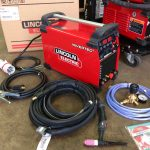 1. Lincoln Electric TPX 300 Air Cooled DC TIG Welder Inverter Package, 415V