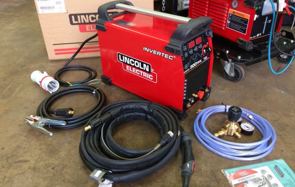 Lincoln Electric Invertec TPX 300 Air Cooled DC TIG Welder Inverter Package, 415V
