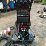 2. Lincoln Electric Invertec TPX 300 Water Cooled DC TIG Welder Inverter Package, 415V