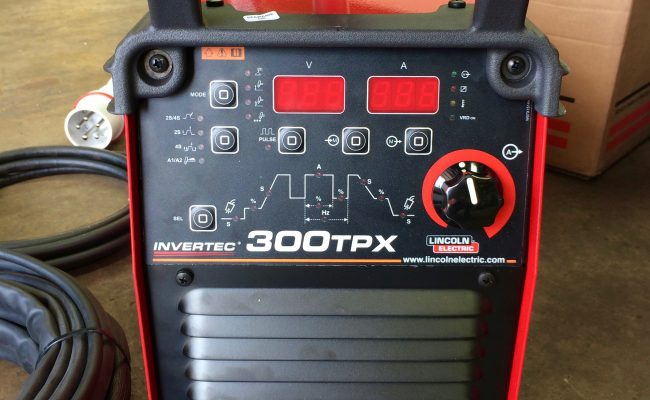 2. Lincoln Electric TPX 300 Air Cooled DC TIG Welder Inverter Package, 415V