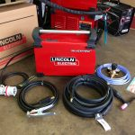 4. Lincoln Electric TPX 300 Air Cooled DC TIG Welder Inverter Package, 415V