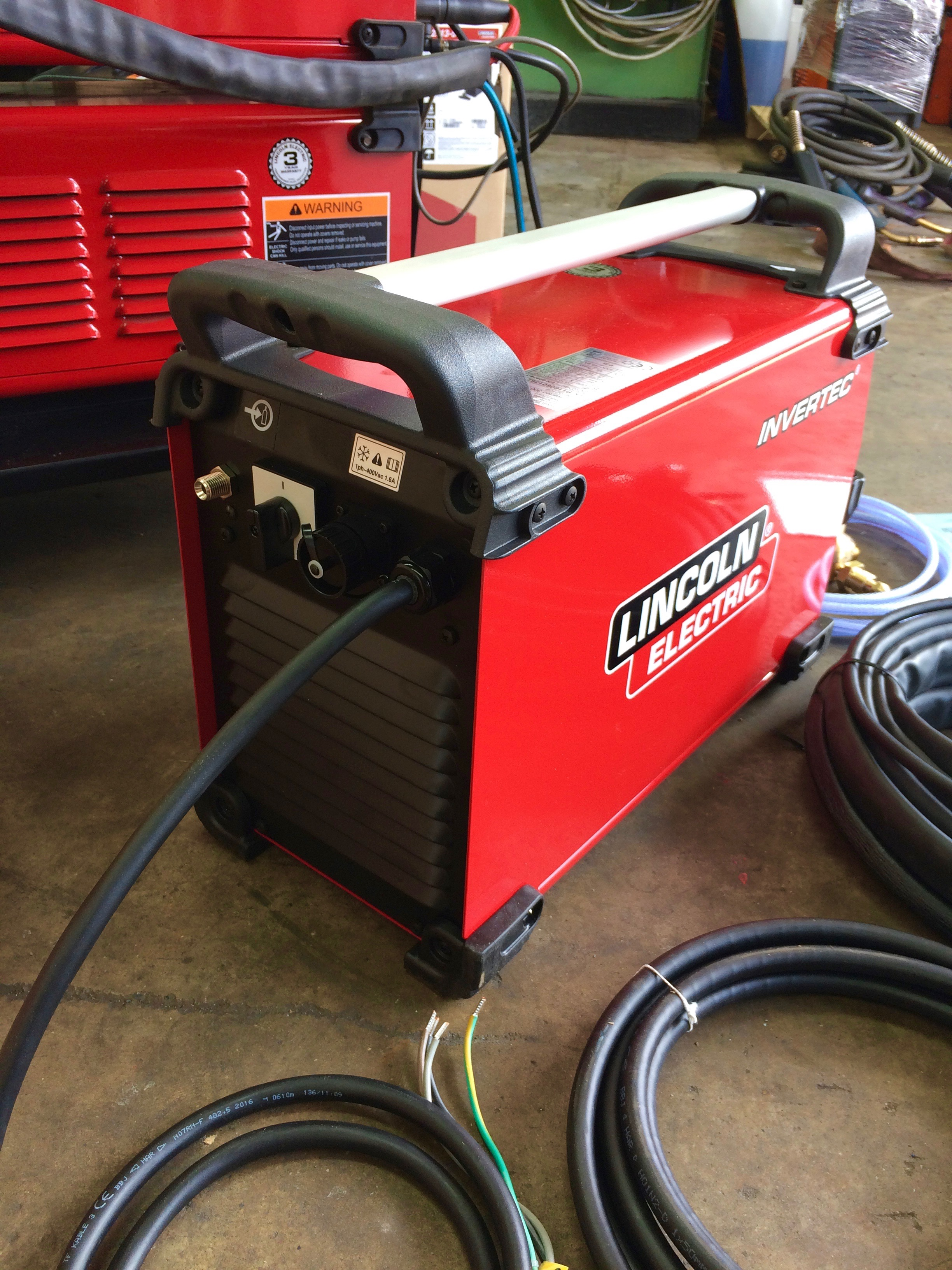 Lincoln Electric Invertec TPX 300 Air Cooled DC TIG Welder