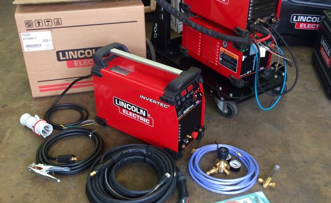 6. Lincoln Electric TPX 300 Air Cooled DC TIG Welder Inverter Package, 415V