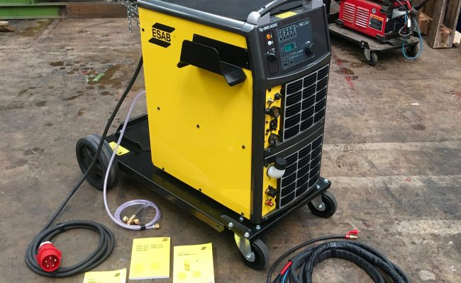 1. ESAB Origo Tig 4300iw AC:DC Water Cooled 415V TIG Welder Inverter Package