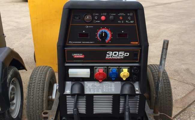 11. Brand New Lincoln Electric Ranger 305D Welder Generator MIG and MMA Stick Setup with LN-25 Pro Wire Feeders