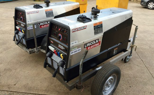 12. Brand New Lincoln Electric Ranger 305D Welder Generator MIG and MMA Stick Setup with LN-25 Pro Wire Feeders