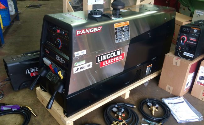 2. Brand New Lincoln Electric Ranger 305D Welder Generator MIG and MMA Stick Setup with LN-25 Pro Wire Feeders