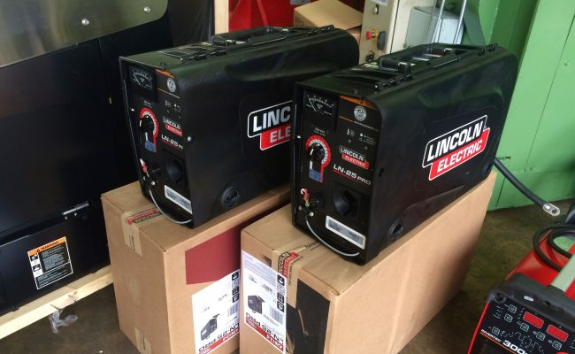 3. Brand New Lincoln Electric Ranger 305D Welder Generator MIG and MMA Stick Setup with LN-25 Pro Wire Feeders