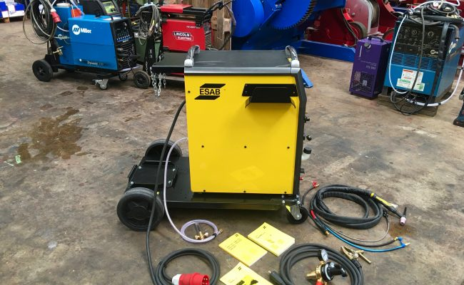 3. ESAB Origo Tig 4300iw AC:DC Water Cooled 415V TIG Welder Inverter Package
