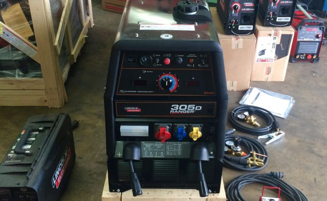 4. Brand New Lincoln Electric Ranger 305D Welder Generator MIG and MMA Stick Setup with LN-25 Pro Wire Feeders