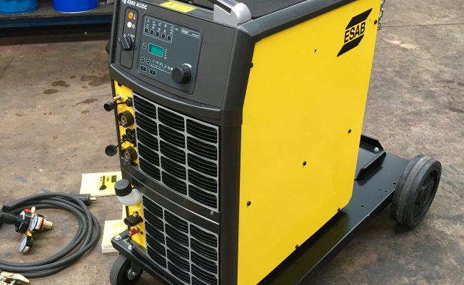 6. ESAB Origo Tig 4300iw AC:DC Water Cooled 415V TIG Welder Inverter Package