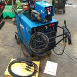 6. Miller Deltaweld 402 415V with Miller S-74DX Wire Feeder MIG Welder Package