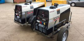 Brand New Lincoln Electric Ranger 305D Welder Generators for MIG and MMA Stick Setup with LN-25 Pro Wire Feeders