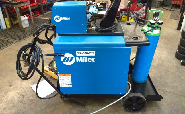 8. Miller Deltaweld 402 415V with Miller S-74DX Wire Feeder MIG Welder Package