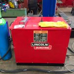 11. Lincoln Electric CV 500-I and Lincoln Electric LF38 Wire Feeder Water Cooled MIG Welding Machine Package coupled with BODE 3m x 3m Column and Boom Welding Manipulator