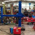2. Lincoln Electric CV 500-I and Lincoln Electric LF38 Wire Feeder Water Cooled MIG Welding Machine Package coupled with BODE 3m x 3m Column and Boom Welding Manipulator