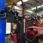 5. Lincoln Electric CV 500-I and Lincoln Electric LF38 Wire Feeder Water Cooled MIG Welding Machine Package coupled with BODE 3m x 3m Column and Boom Welding Manipulator