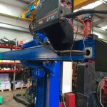 6. Lincoln Electric CV 500-I and Lincoln Electric LF38 Wire Feeder Water Cooled MIG Welding Machine Package coupled with BODE 3m x 3m Column and Boom Welding Manipulator