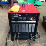 8. Lincoln Electric CV 500-I and Lincoln Electric LF38 Wire Feeder Water Cooled MIG Welding Machine Package coupled with BODE 3m x 3m Column and Boom Welding Manipulator