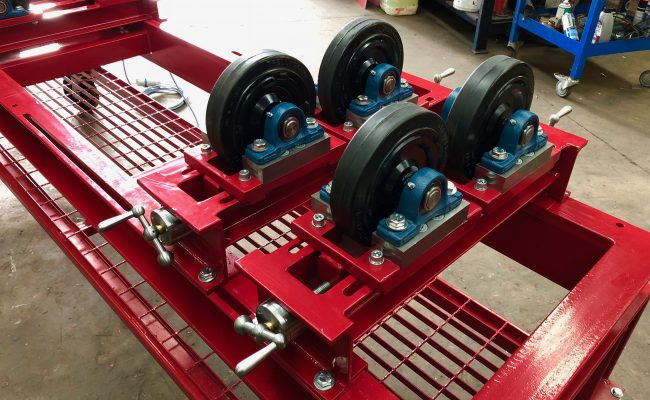 1 Tonne SWL Bespoke Manufactured Adjustable Rotators and Adjustable Rotator Frame-10