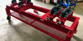 1 Tonne SWL Bespoke Manufactured Adjustable Rotators and Adjustable Rotator Frame