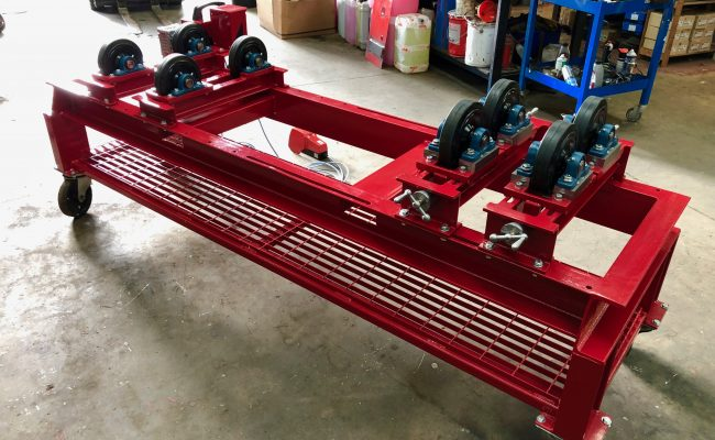 1 Tonne SWL Bespoke Manufactured Adjustable Rotators and Adjustable Rotator Frame-11