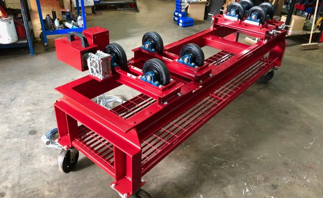 1 Tonne SWL Bespoke Manufactured Adjustable Rotators and Adjustable Rotator Frame-12