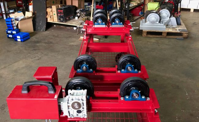 1 Tonne SWL Bespoke Manufactured Adjustable Rotators and Adjustable Rotator Frame-14