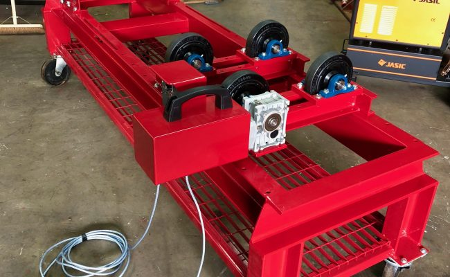 1 Tonne SWL Bespoke Manufactured Adjustable Rotators and Adjustable Rotator Frame-2