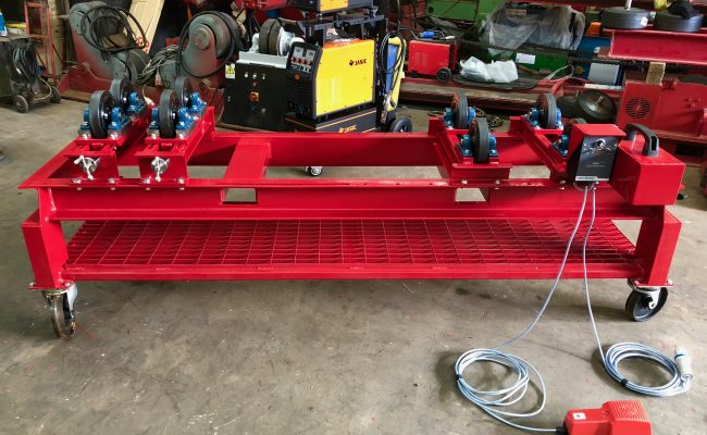 1 Tonne SWL Bespoke Manufactured Adjustable Rotators and Adjustable Rotator Frame-5