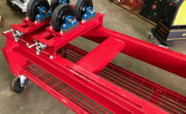 1 Tonne SWL Bespoke Manufactured Adjustable Rotators and Adjustable Rotator Frame-6